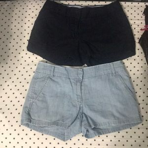 Two Jcrew shorts